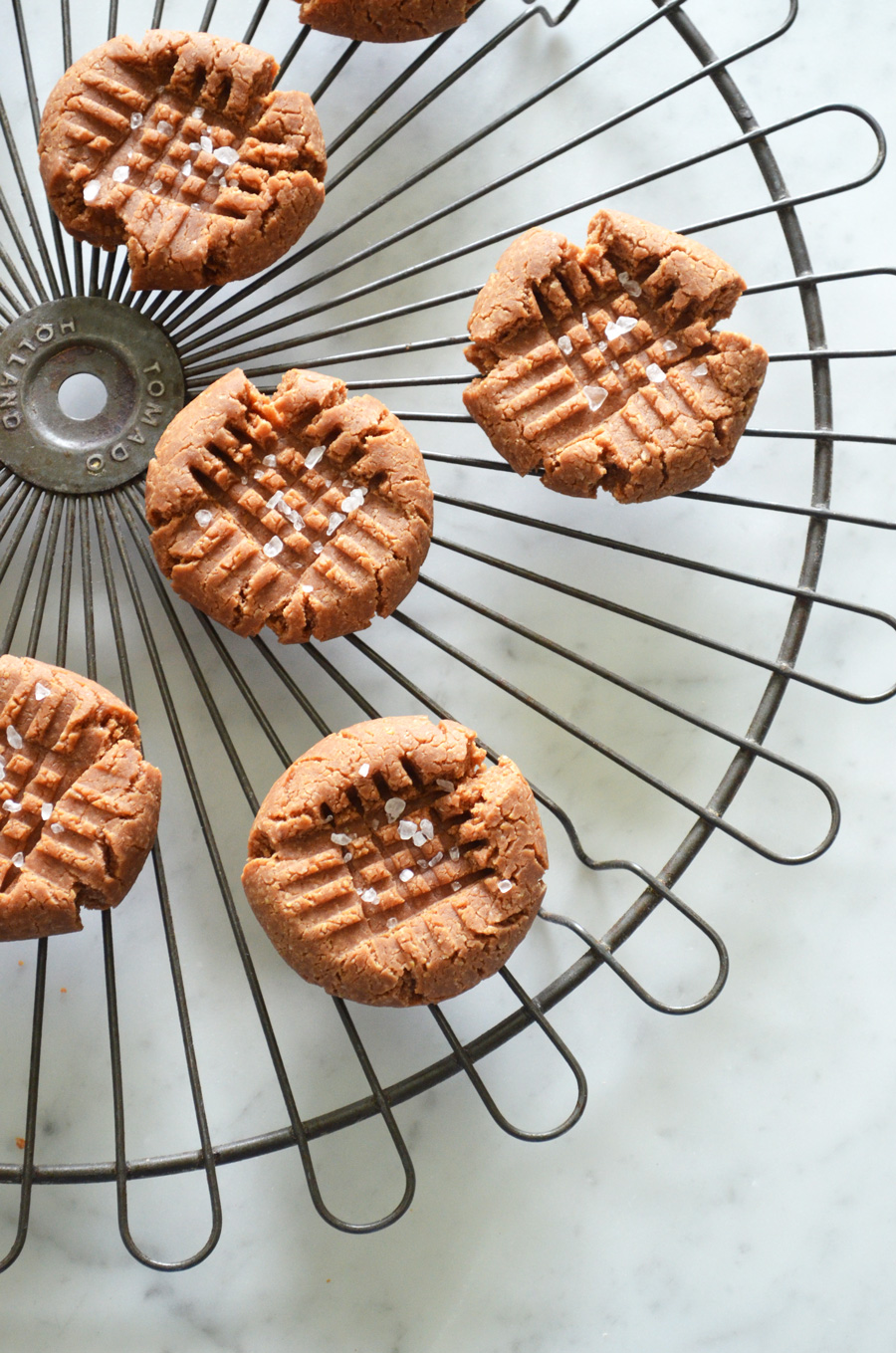 Lighter Peanut Butter Cookies