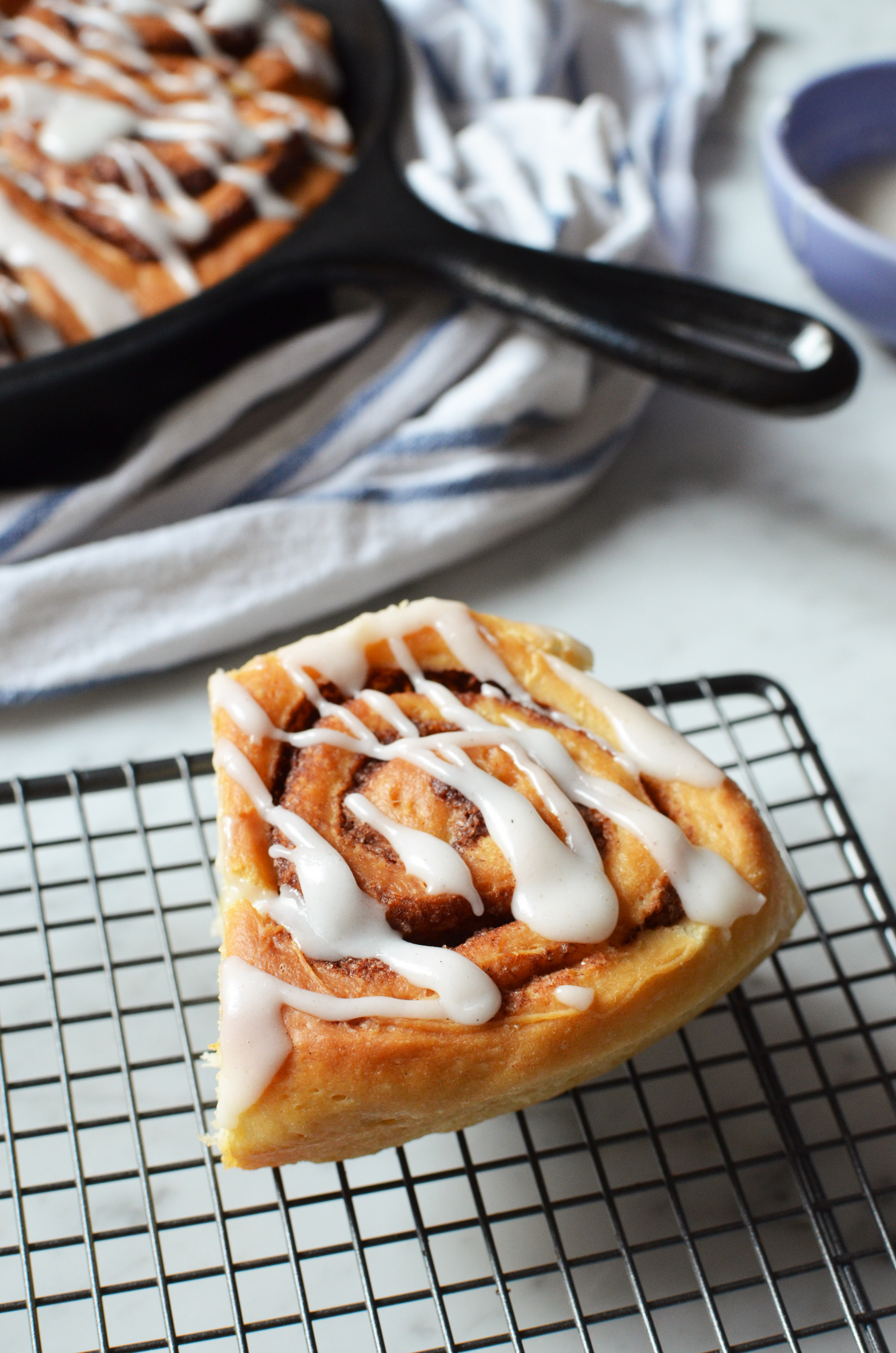 Recipe for the best, fluffiest cinnamon rolls